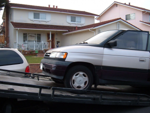 minivan towing